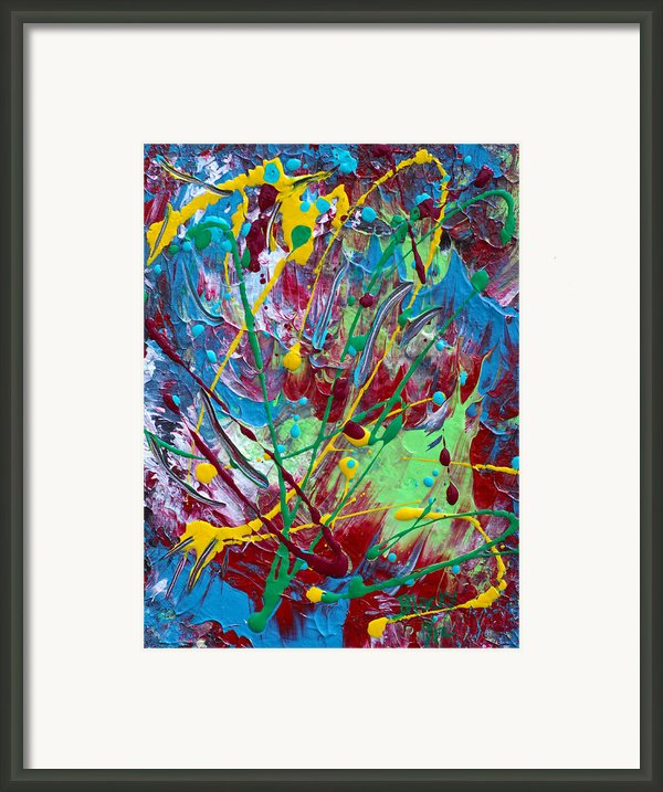 4th Of July Framed Print By Donna Blackhall