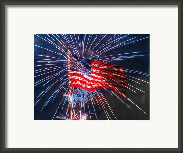 4th Of July Framed Print By Heidi Smith