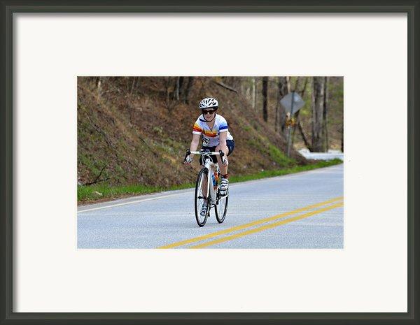 Gran Fondo Framed Print By Susan Leggett