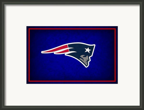 New England Patriots Framed Print By Joe Hamilton