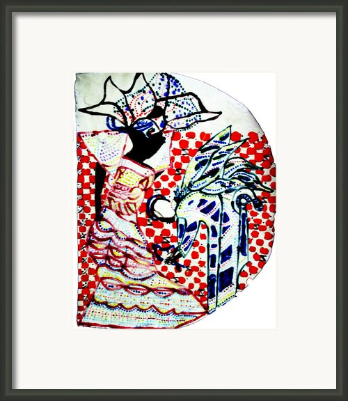 The Annunciation Framed Print By Gloria Ssali