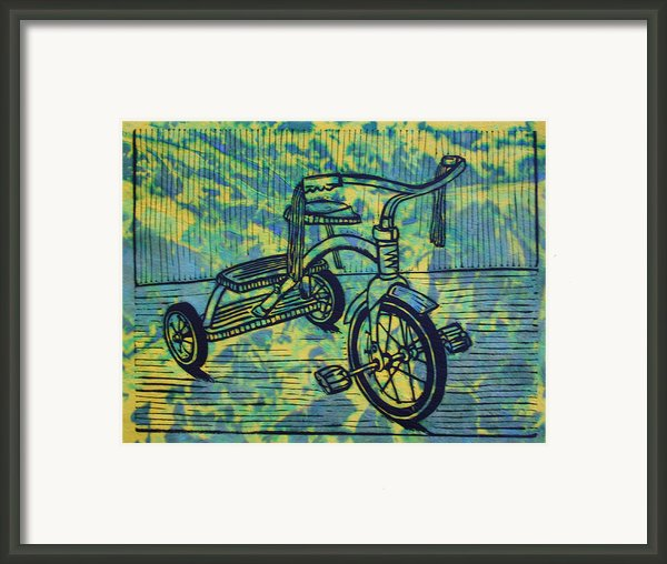 Tricycle Framed Print By William Cauthern