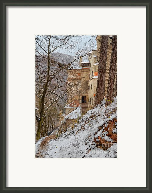 Bran Castle Framed Print By Gabriela Insuratelu