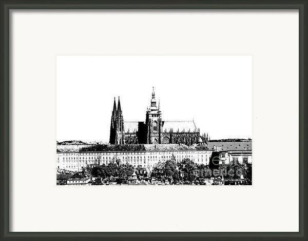 Cathedral Of St Vitus Framed Print By Michal Boubin