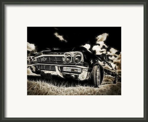 65 Chev Impala Framed Print By Motography Aka Phil Clark