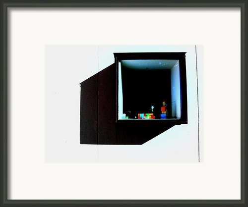 Art Museum Of South Texas Framed Print By James E Hoehne