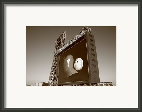 Citizens Bank Park - Philadelphia Phillies Framed Print By Frank Romeo