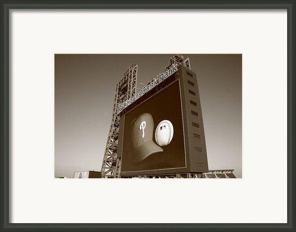 Citizens Bank Park - Philadelphia Phillies Framed Print By Frank Romeo