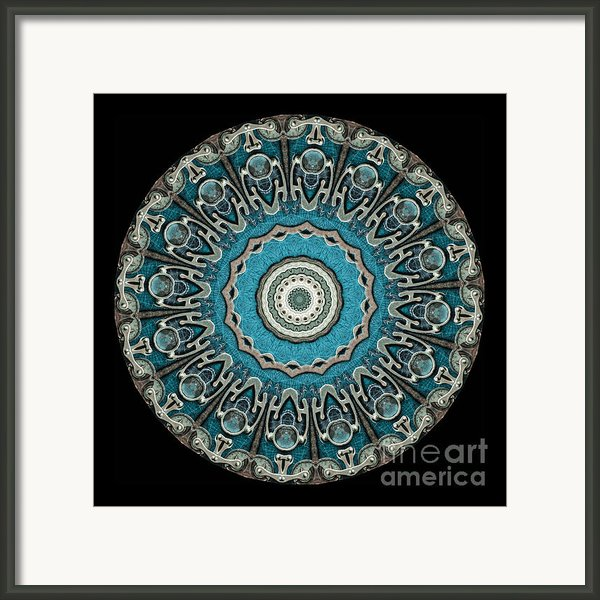 Kaleidoscope Steampunk Series Framed Print By Amy Cicconi