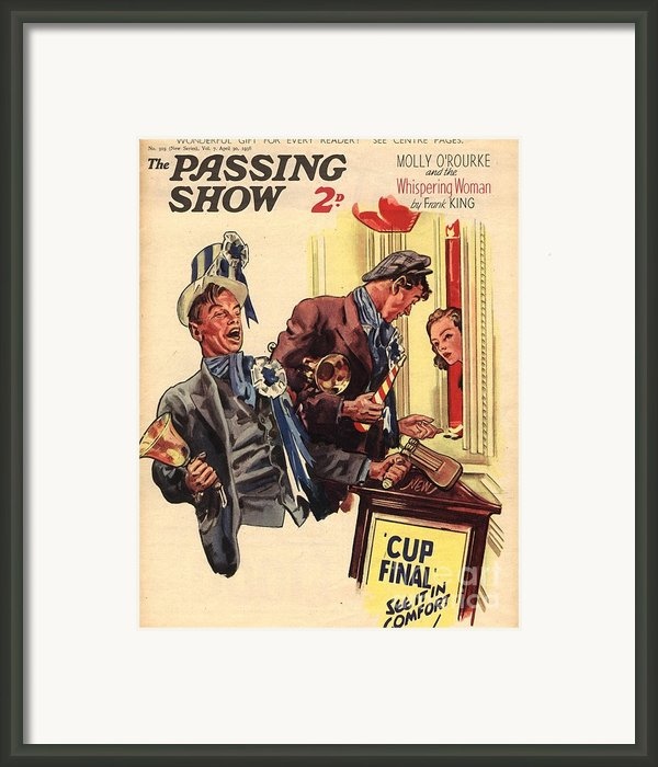 1930s,uk,the Passing Show,magazine Cover Framed Print By The Advertising Archives