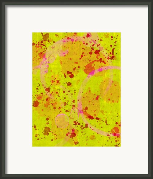Abstract Framed Print By Lisa Noneman