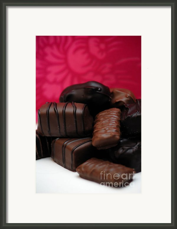 Chocolate Candies Framed Print By Amy Cicconi