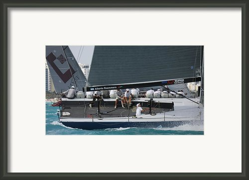 Tp52 Regatta Framed Print By Steven Lapkin