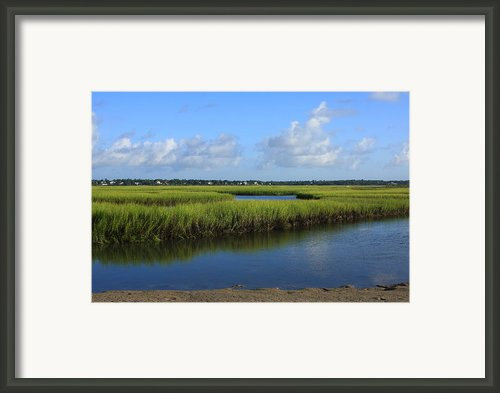 Wrightsville Beach Marsh Framed Print By Michael Weeks