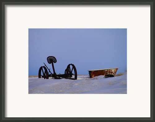 A Bath After Harvest Framed Print By Jeff  Swan