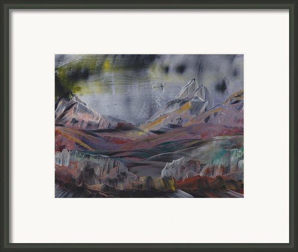 A Blaze In The Sky Framed Print By Ana Lusi