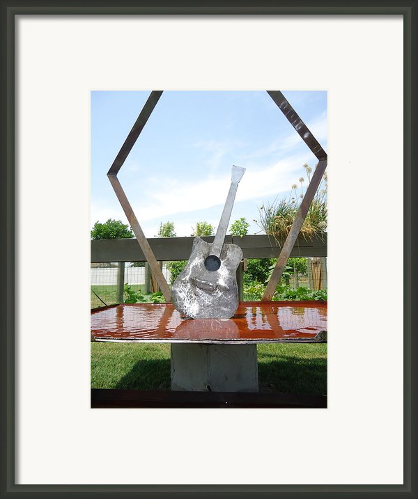 A Chance No Strings Attached Framed Print By Matthew Padlo
