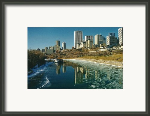 A City Grown Up Framed Print By Shirley Sirois