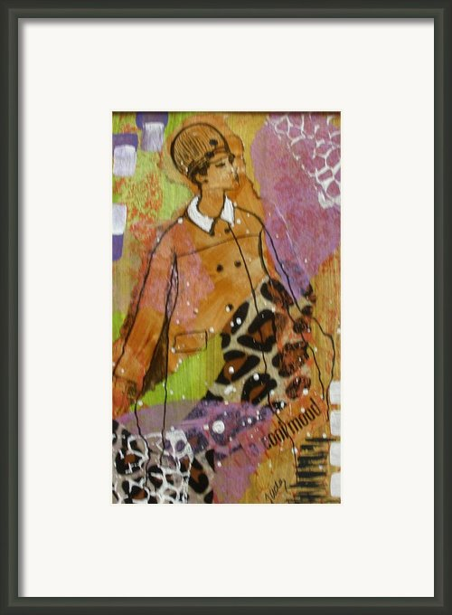 A Cool Mood Framed Print By Jude Ongley-kirby