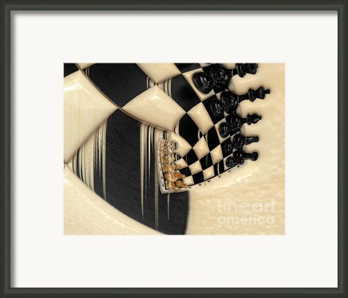 A Game Of Chess Framed Print By Liane Wright