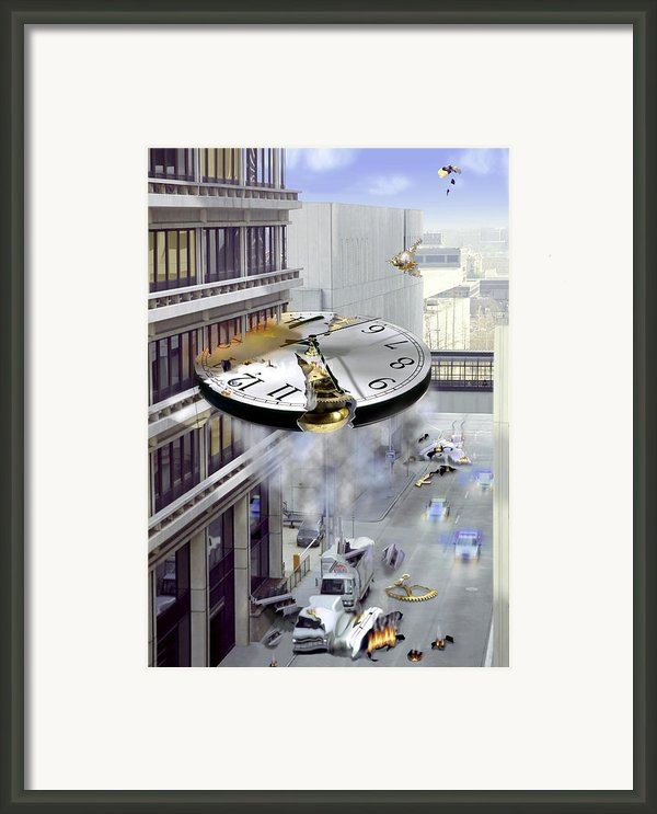 A Glitch In Time Framed Print By Mike Mcglothlen