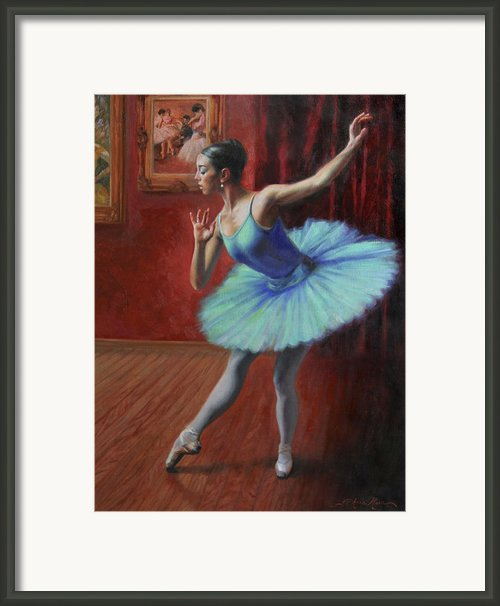 A Legacy Of Elegance Framed Print By Anna Bain
