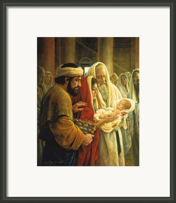 A Light To The Gentiles Framed Print By Greg Olsen