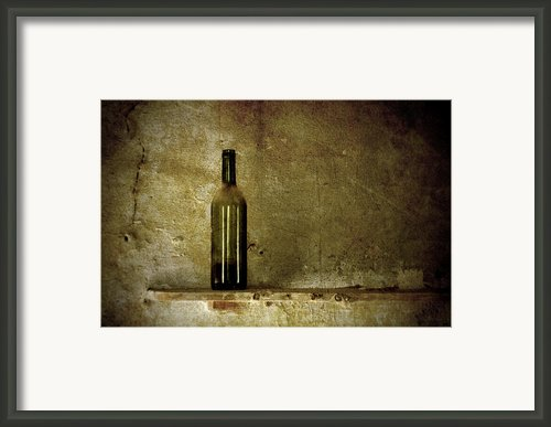 A Lonely Bottle Framed Print By Ricardmn Photography