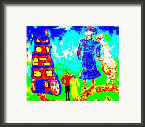 A Miltary Home Framed Print By Hilde Widerberg