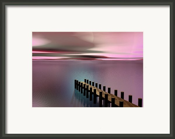 A Perfect Calm Framed Print By Barbara Milton