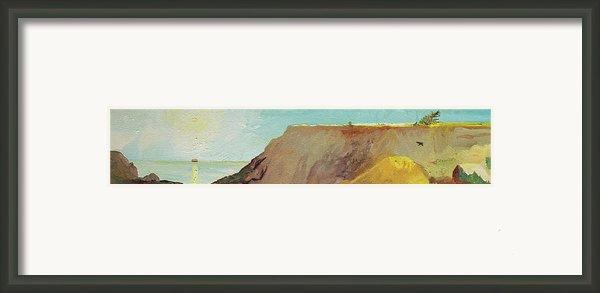 A Private Spot Framed Print By Joseph Demaree