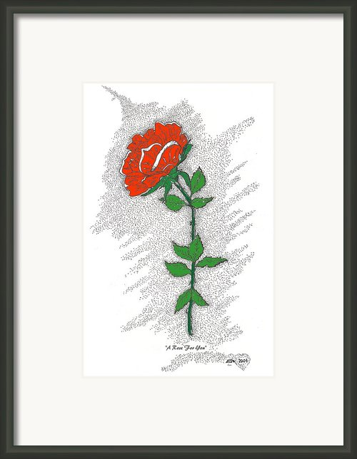 A Rose For You Framed Print By Glenn Mccarthy Art And Photography