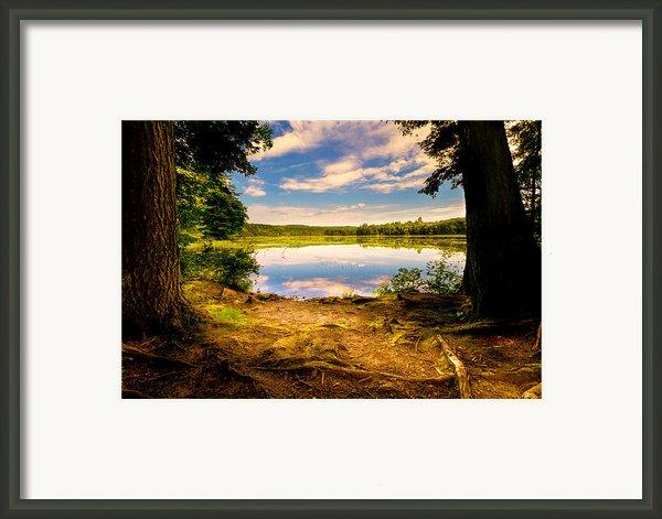 A Secret Place Framed Print By Bob Orsillo