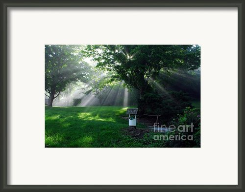 A Small Wish Framed Print By Mel Steinhauer