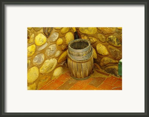 A Sole Barrel Framed Print By Jeff  Swan
