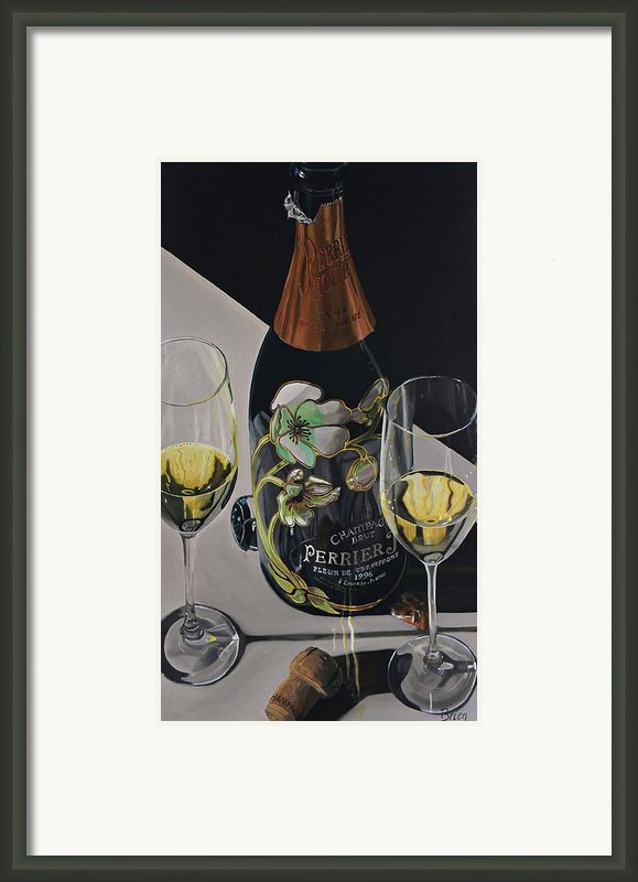 A Sparkling Celebration Framed Print By Brien Cole
