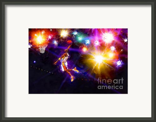 A Star Is Born Framed Print By Alan Greene