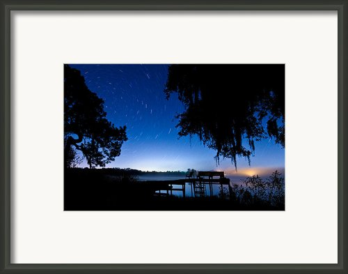 A Starry Night Framed Print By Walter Arnold