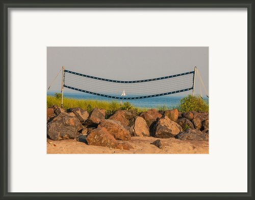 A Summers End Framed Print By Terry Cosgrave