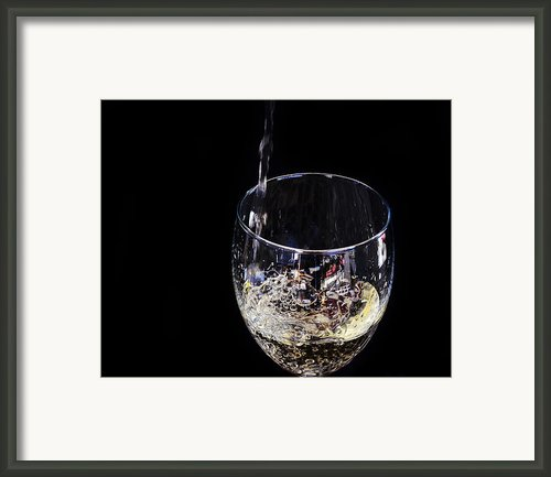 A Taste Of The Bubbly Framed Print By Camille Lopez