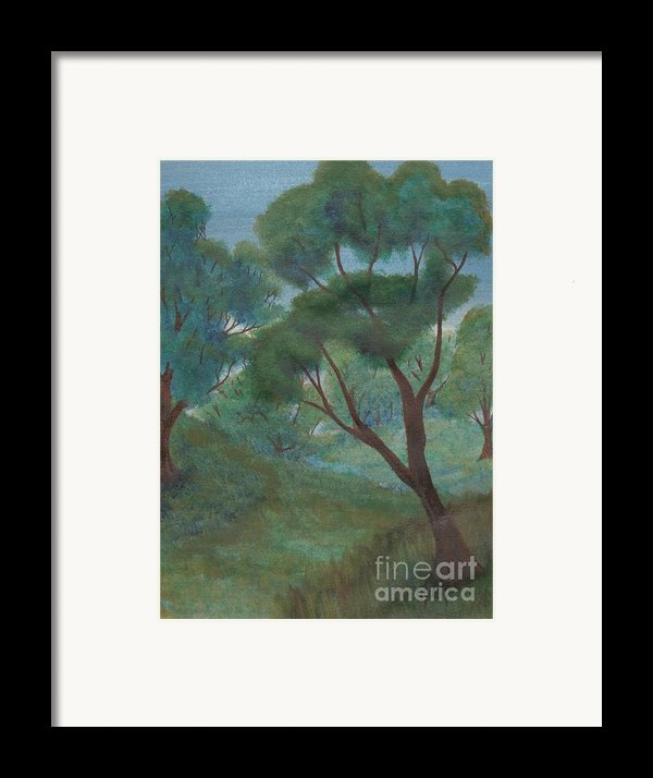 A Thought Of Summer Framed Print By Robert Meszaros