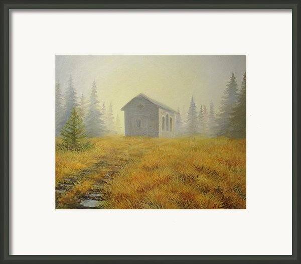 A Touch Of Faith Framed Print By Kiril Stanchev
