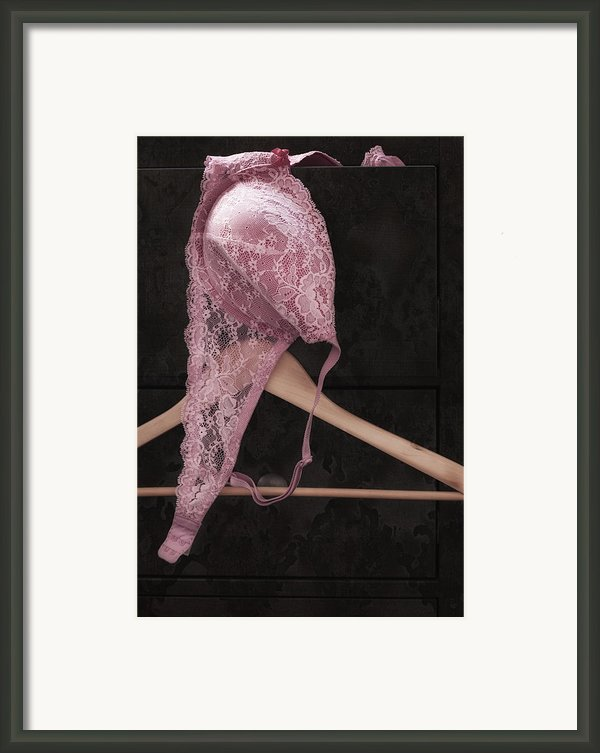 A Touch Of Pink Framed Print By Amy Weiss