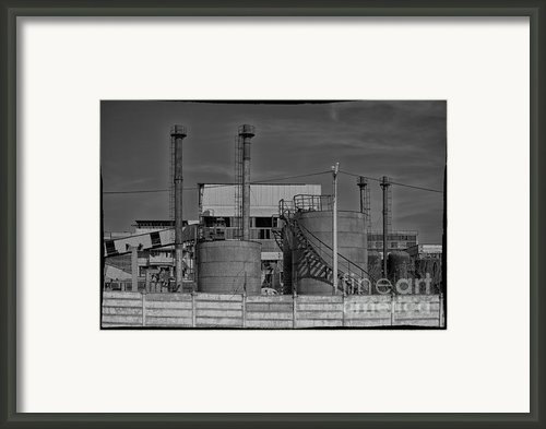 Abandoned Factory At Vadu Framed Print By Gabriela Insuratelu