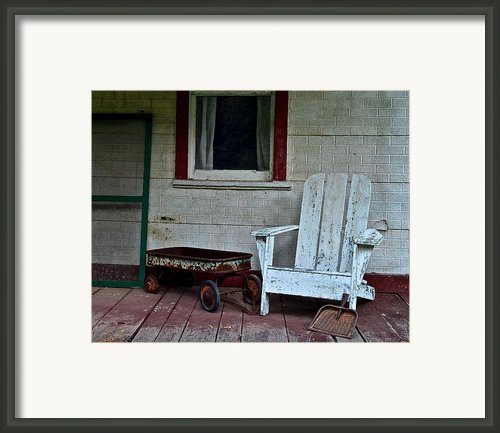Abandoned Framed Print By Robert Harmon