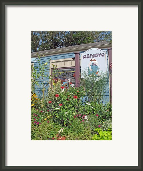 Abiyoyo Framed Print By Barbara Mcdevitt