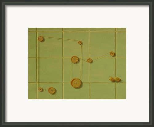 About Mechanics Framed Print By Raul Vargas