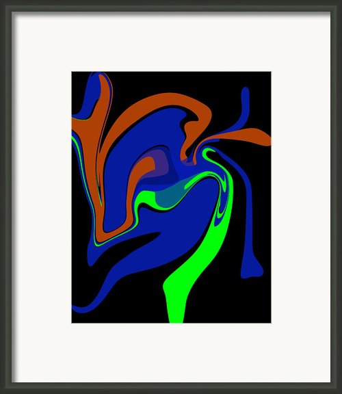 Abstract 124 Framed Print By J D Owen