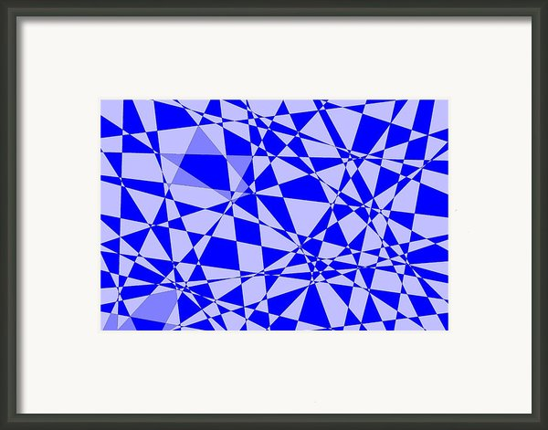 Abstract 151 Framed Print By J D Owen