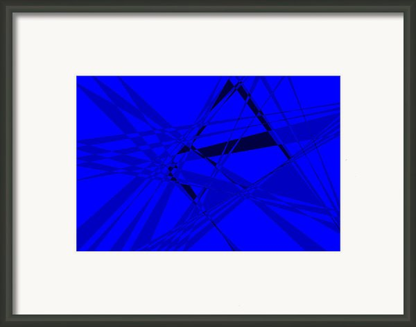 Abstract 156 Framed Print By J D Owen
